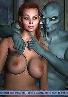 Alien Fuckers SEXperiment with Human Females