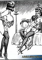 Nothing is off limits when it comes to the fun games of bondage! Whips and chains are used with no mercy, while orders are barked out like commands; t